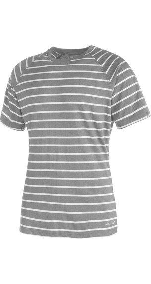 Mammut M's Crag T-Shirt stone grey melange-light grey melange